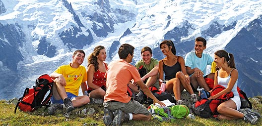 Tour du mont blanc trek randonn e p destre argenti re for Camping chamonix piscine