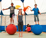 English Camp Circus & Sailing-Aber Wrac'h ( Bretagne) 6 jours