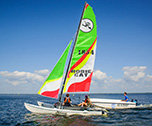 Catamaran adventure-Bombannes Nature Camp ( Aquitaine) 14 jours