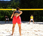 Beach-volley / Multisports-Les Contamines ( Alpes du Nord) 7 jours