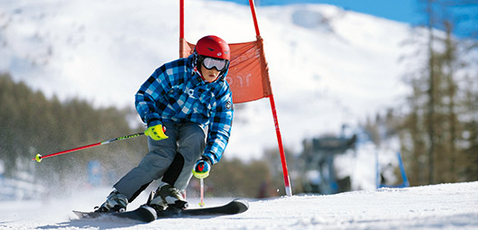 Ski-alpin-ski-competition