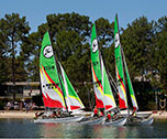 Catamaran adventure-Bombannes Nature Camp ( Aquitaine) 7 jours