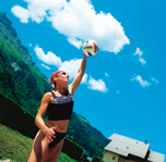 Beach-volley-Les Contamines ( Alpes du Nord) 7 jours
