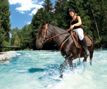 Equitation / Multisports-Les Contamines ( Alpes du Nord) 7 jours