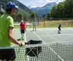 English Camp & Tennis-Les Contamines ( Alpes du Nord) 7 jours